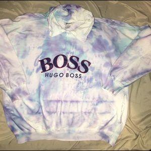 Hugo Boss Rocky Pullover sweatshirt SZ M type dye